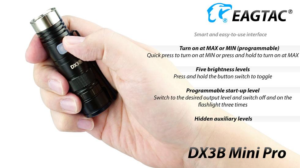 ไฟฉาย EAGTAC DX3B Mini Pro