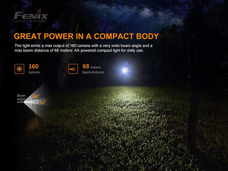 ไฟฉาย Fenix E12 V2.0