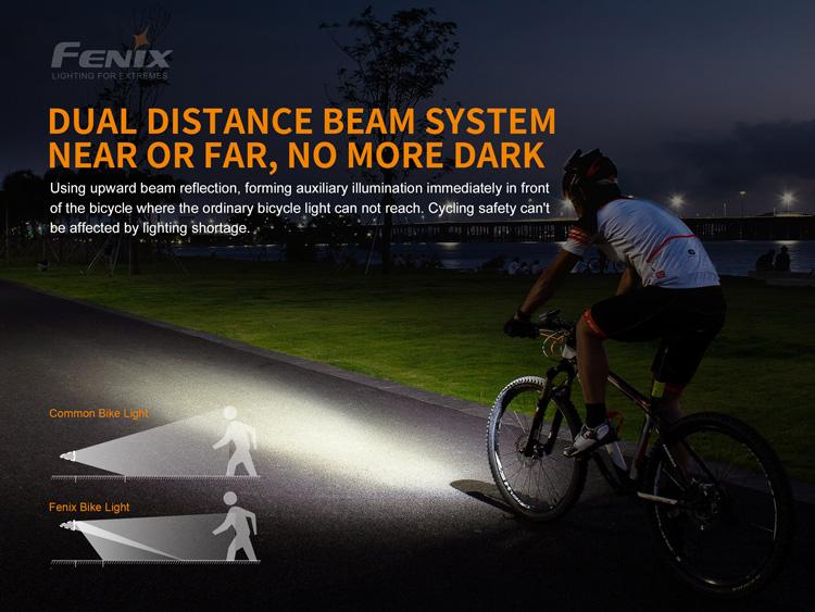 ไฟฉายติดจักรยาน Fenix BC21R V2.0