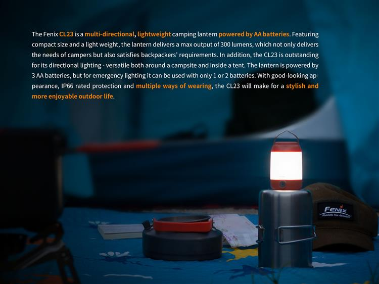 ตะเกียง LED Fenix CL23