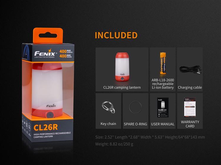 ตะเกียง LED Fenix CL26R