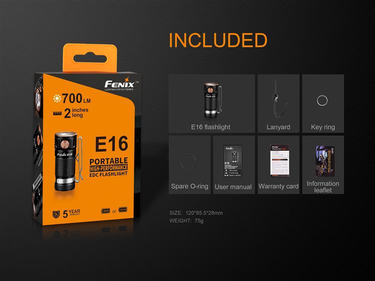 ไฟฉาย Fenix E16