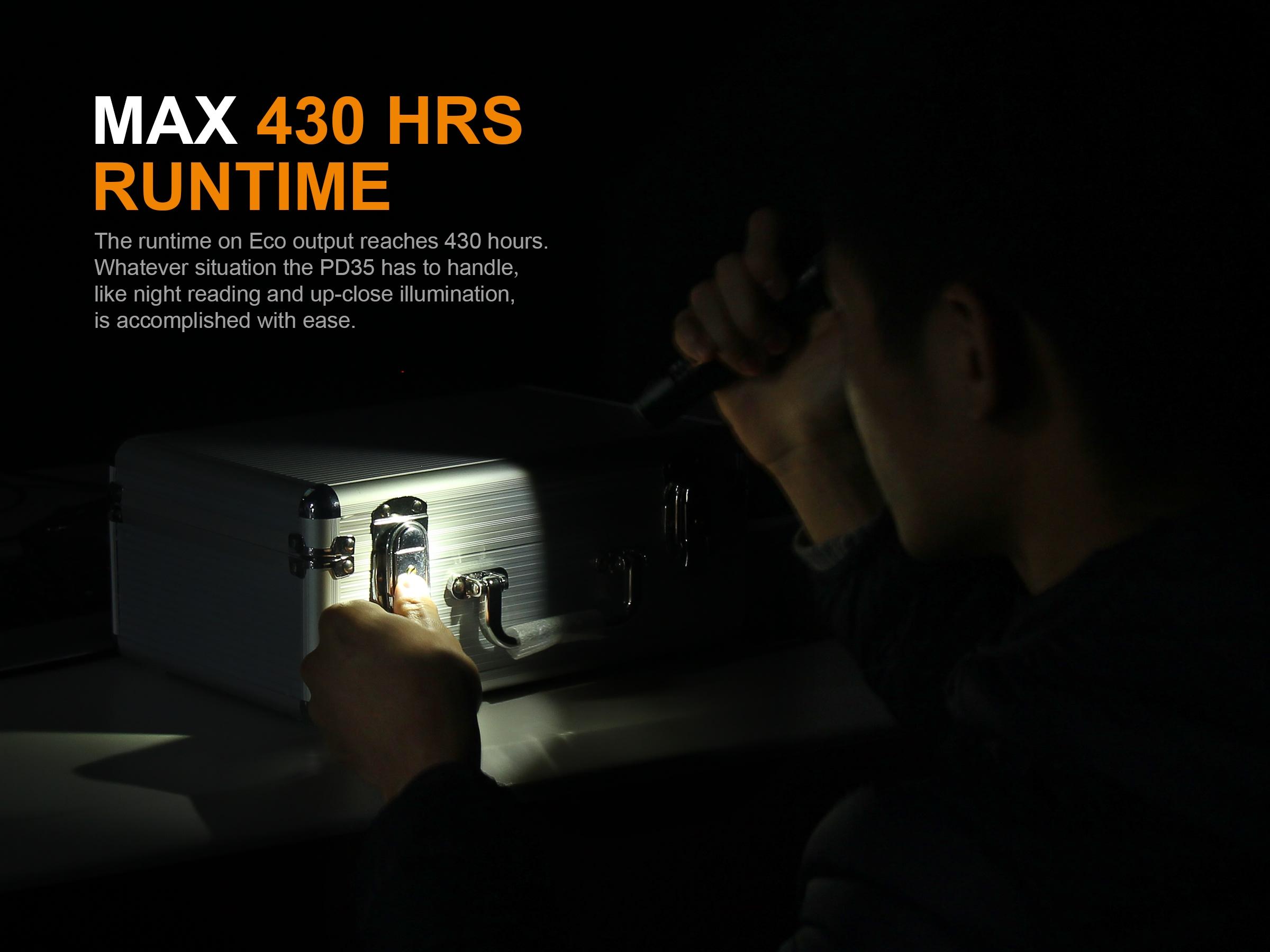 ไฟฉาย Fenix PD35 V2.0