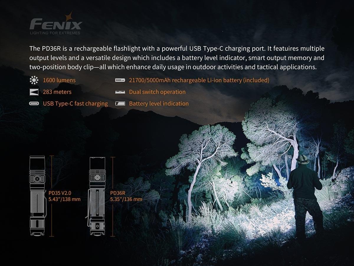 ไฟฉาย Fenix PD36R
