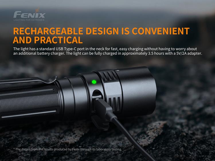 ไฟฉาย Fenix PD40R V2.0