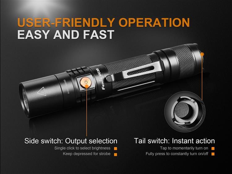 ไฟฉาย Fenix UC35 V2.0
