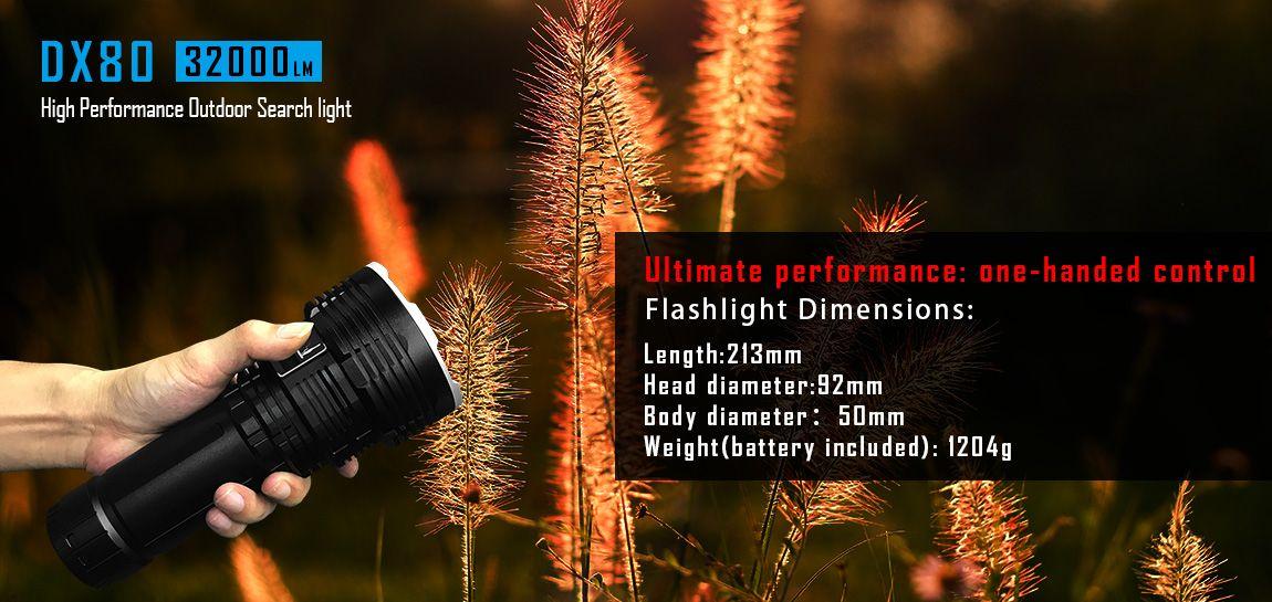 ไฟฉาย Imalent DX80