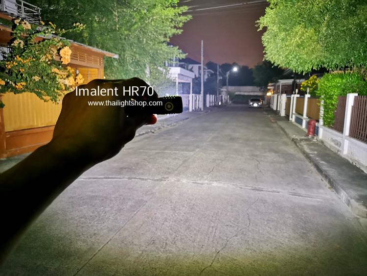 ไฟฉายคาดหัว Imalent HR70
