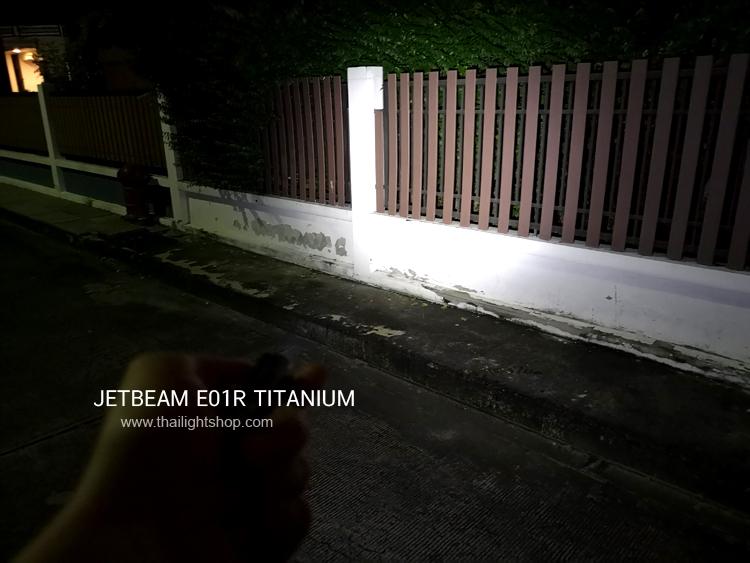 ่JetBeam E01R Titanium