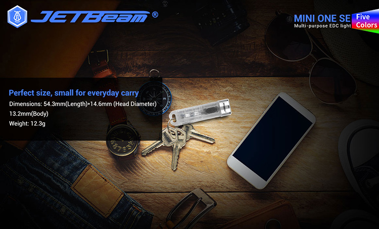 ไฟฉาย JetBeam Mini one se