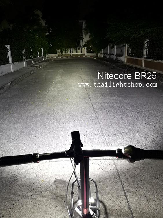 ไฟฉายติดจักรยาน Nitecore BR25