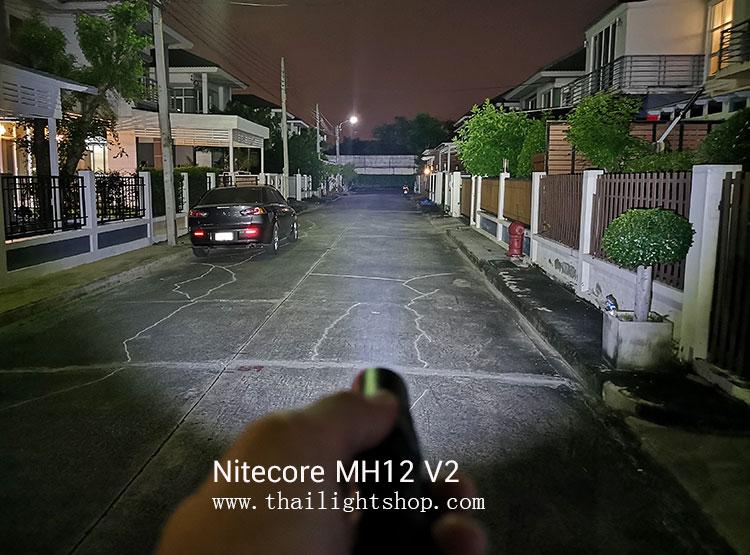 ไฟฉาย Nitecore MH12 V2