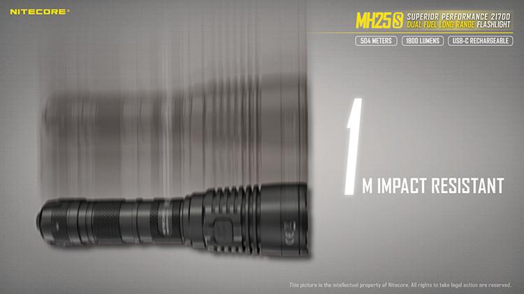 ไฟฉาย Nitecore MH25s