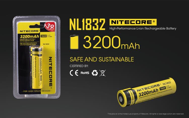 Nitecore 18650 3200mAh