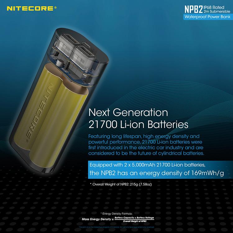 Power Bank Nitecore NPB2
