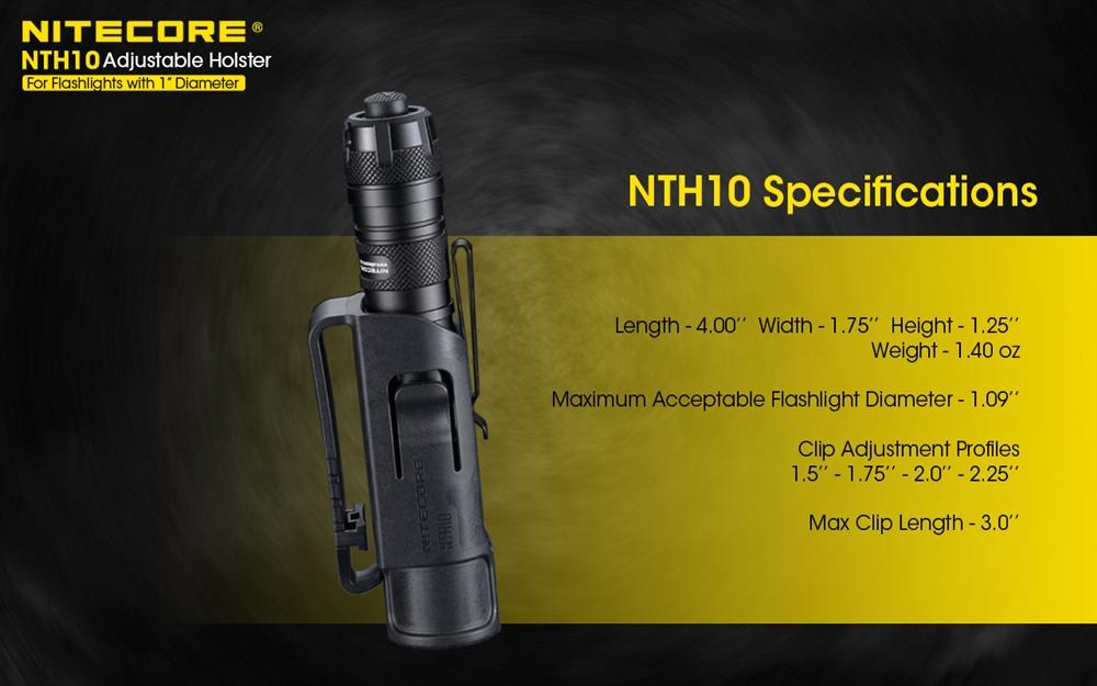 ซองไฟฉาย Nitecore NTH10