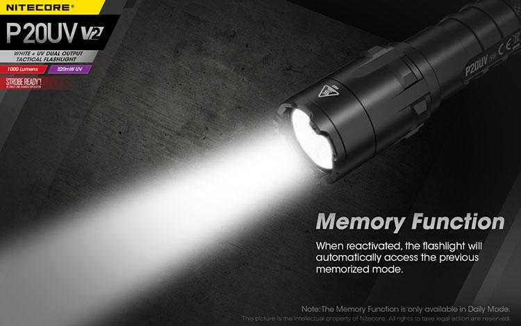 ไฟฉาย Nitecore P20UV V2