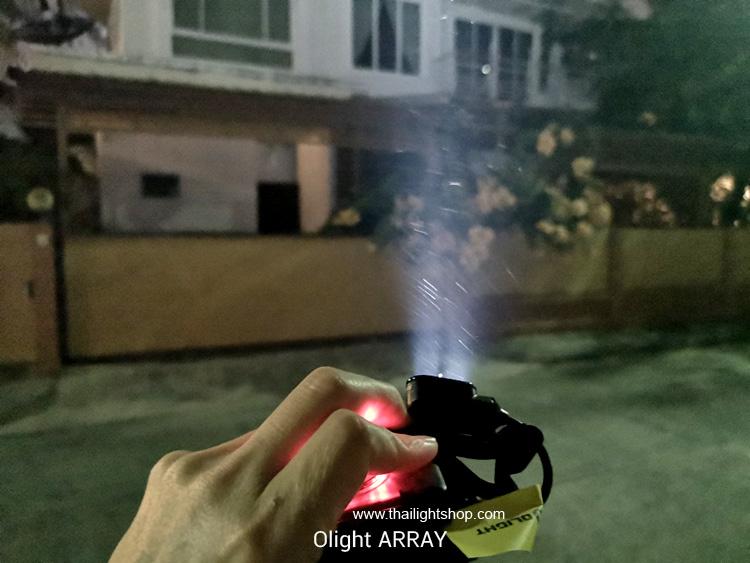 ไฟฉายคาดหัว Olight Array