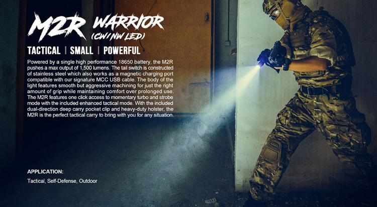 ไฟฉาย Olight M2R Warrior