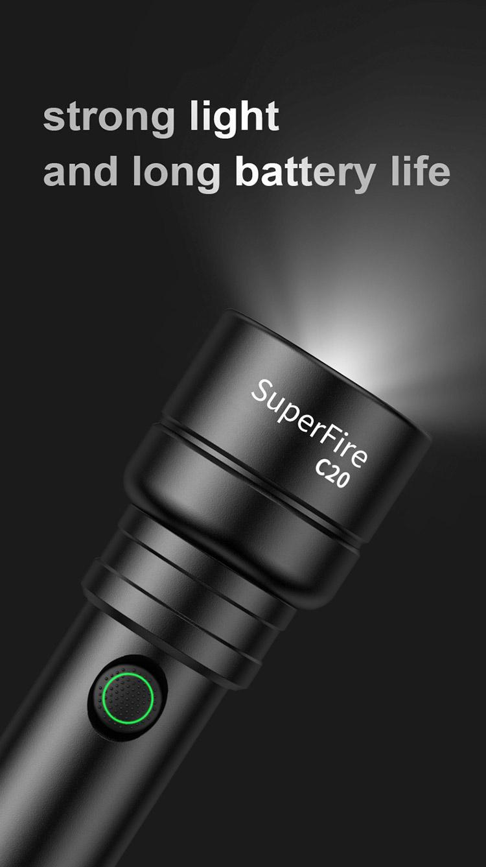 ไฟฉาย SupFire C20