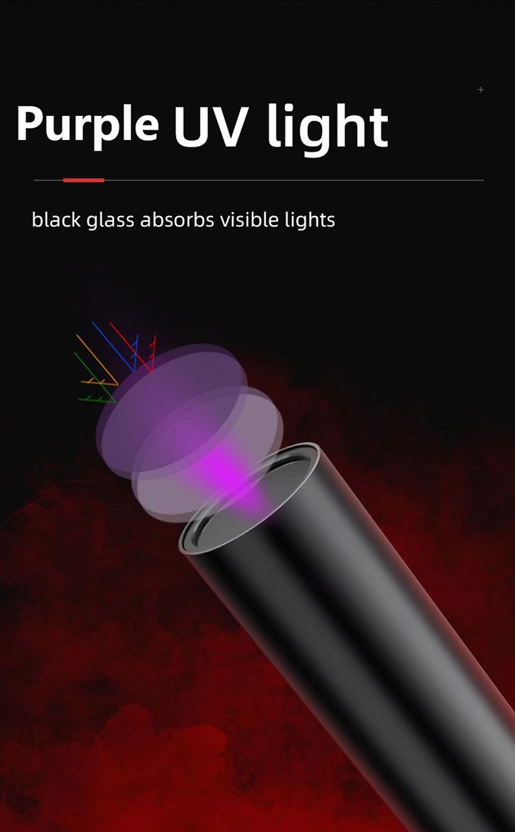 ไฟฉายแสงยูวี SupFire S11-Z